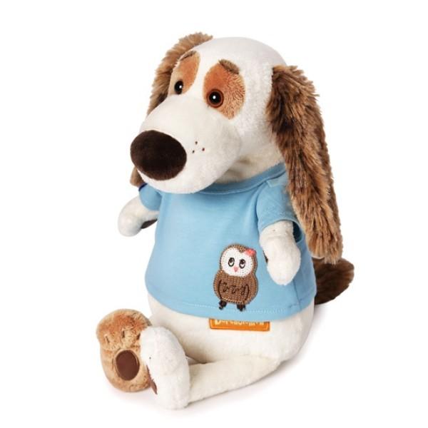 Мягкая игрушка Бартоломей в футболке с совой, Bart27-010 BUDI BASA