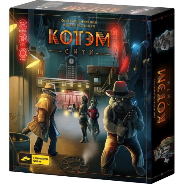 Настольная игра Котэм сити, 52024m COSMODROME GAMES
