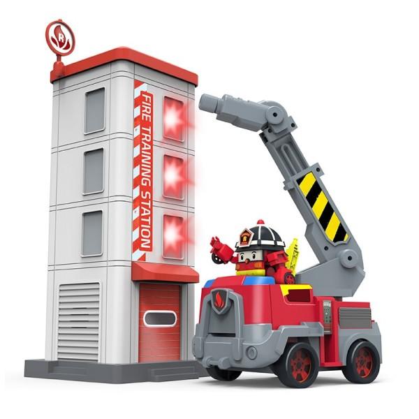 Пожарная станция с фигуркой Рой 83409 Silverlit