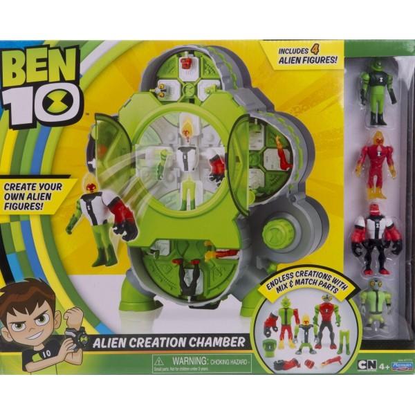 Набор Ben 10 – Камера создания пришельцев 4 фигурки 77711 Playmates