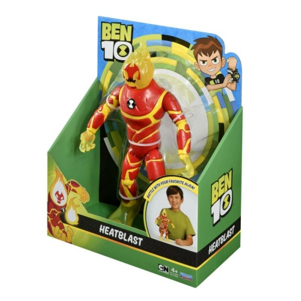 Фигурка Ben 10 – Человек-огонь 28 см 76651 Playmates