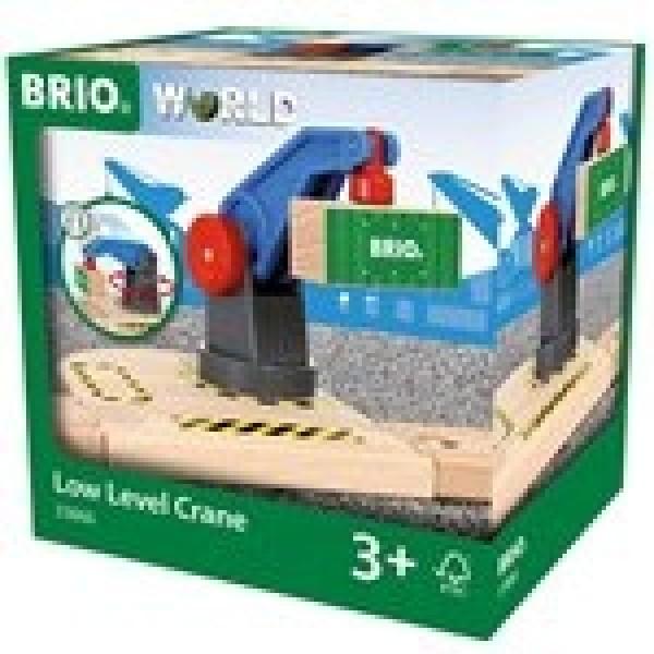 Игровой набор Вращающийся подъемный кран 33866 Brio