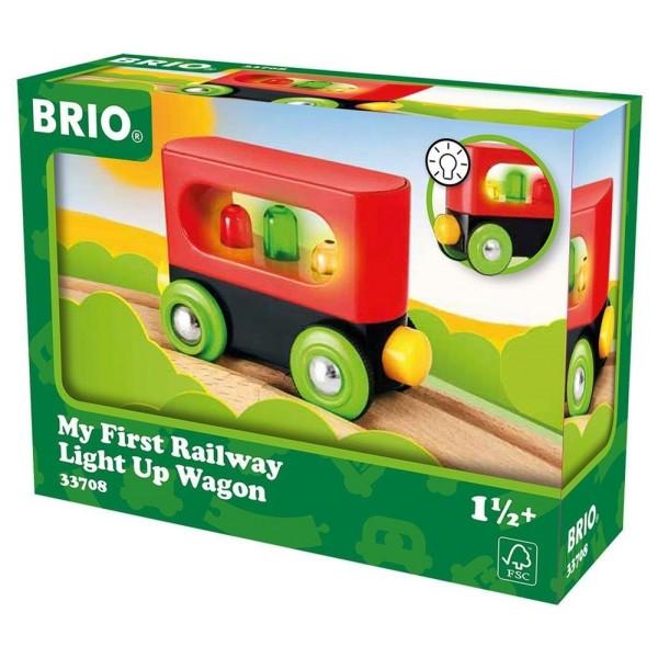 Вагон Мой первый вагончик для деревянной ж/д 33708 Brio