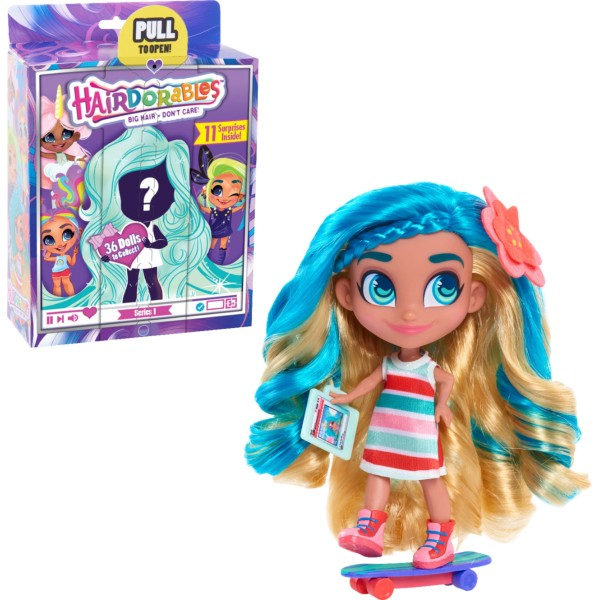Кукла-загадка Cтильные подружки, 23600 Hairdorables Dolls