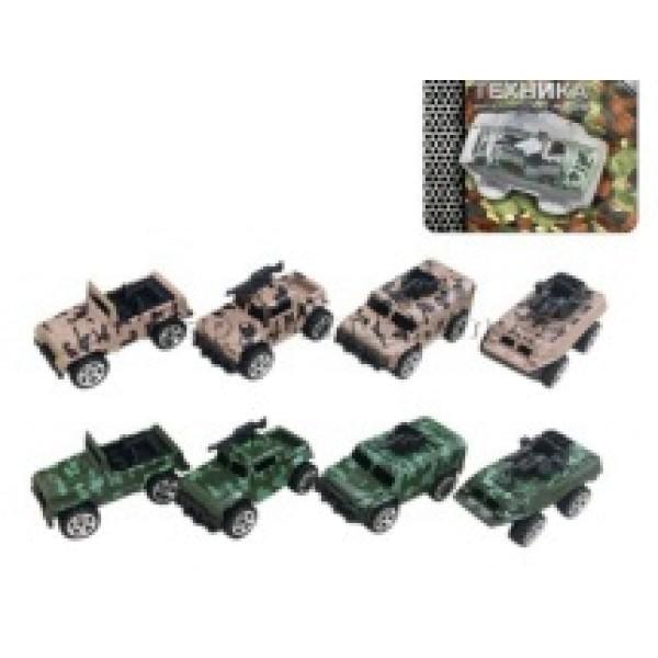 Игрушка из металла с элементами из пластмассы Машина спецназа 200341647 S+S