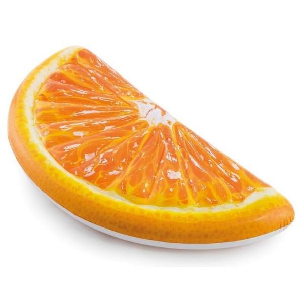 58763 INTEX Матрас для плавания Апельсин