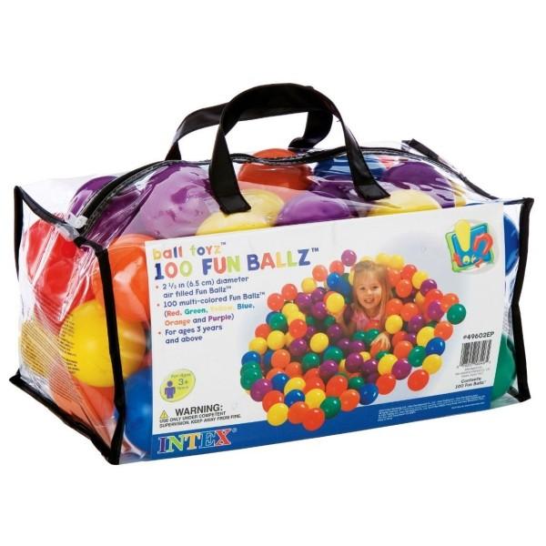49602 INTEX Набор мячиков в сумке