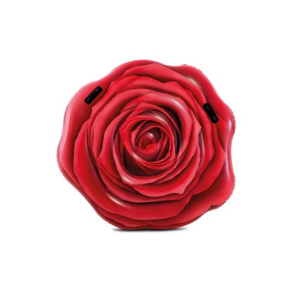 58783 INTEX Надувной плот-остров Красная Роза, с ручками