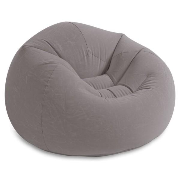 68579 INTEX Кресло BEANLESS BAG, флок