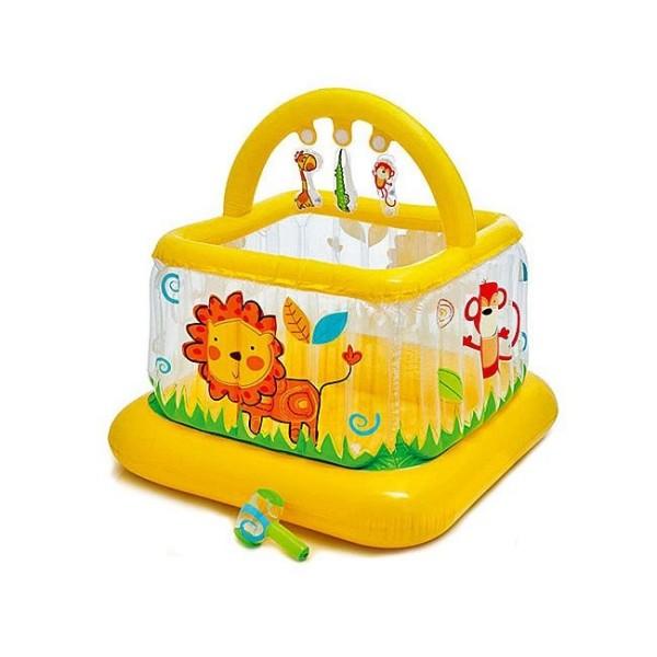 Игровой центр Детский Манеж обучающий с  погремушками 48473 INTEX