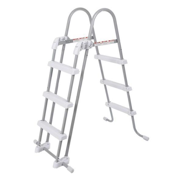 Лестница со съемными ступеньками для бассейнов высотой 91-107 см 28075 INTEX