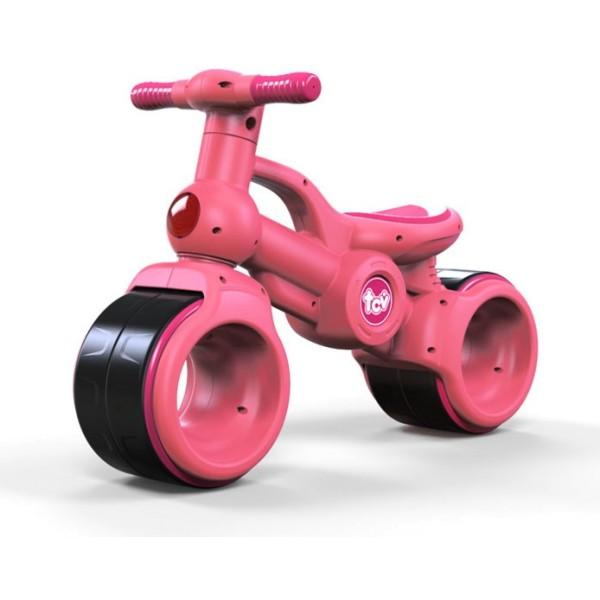 Каталка детская BalanceBike (цвет розовый), TCV-V100-Pin TCV