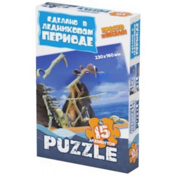 Игрушка Пазлы 15 эл. Ледниковый период 4 400263 Фантазер