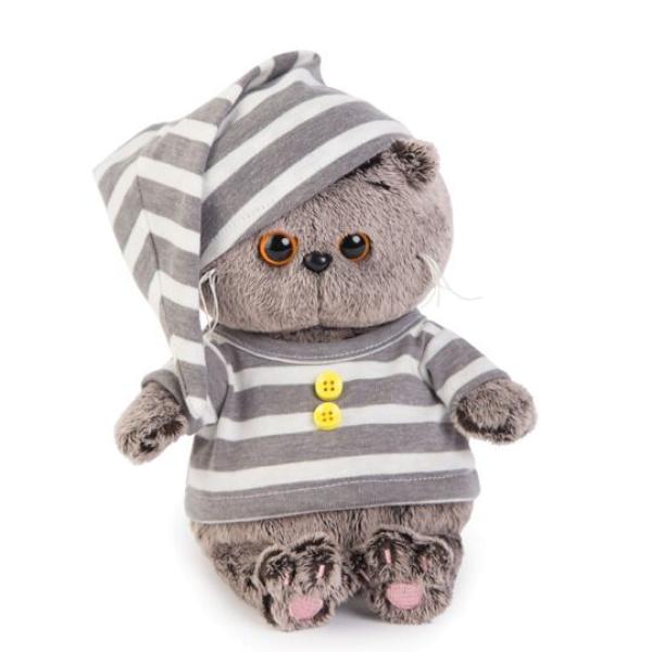 Мягкая игрушка Басик BABY в пижамке 20см, BB-018 BUDI BASA