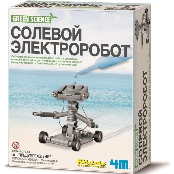 Набор экспериментов - Солевой электроробот 00-03353 4M