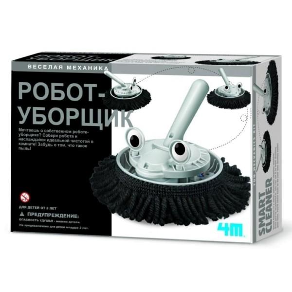 Научный набор – Робот-уборщик Веселая механика 00-03380 4M