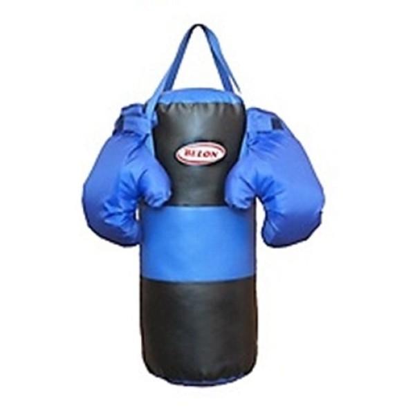 Набор для бокса Груша и перчатки 1 НБ-001-СЧ BELON FAMILIA