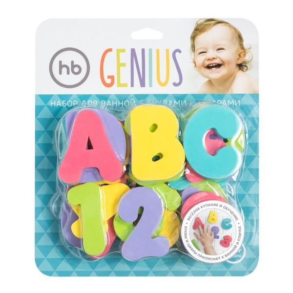 Игровой набор для ванной GENIUS 32023 HAPPY BABY