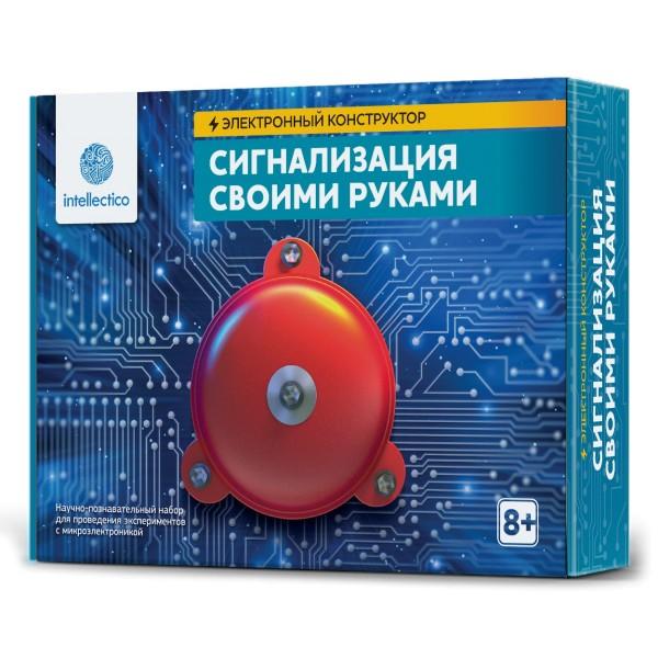 Набор Электронный конструктор Сигнализация своими руками 1006 Intellectico