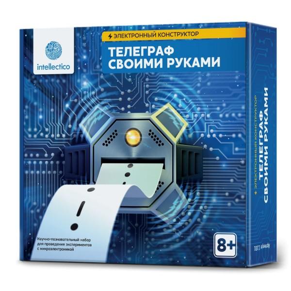 Набор Электронный конструктор Телеграф своими руками 1101 INTELLECTICO