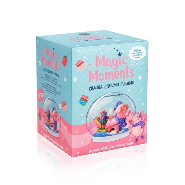 Набор для творчества Волшебный шар Хрюша mm-22 MAGIC MOMENTS