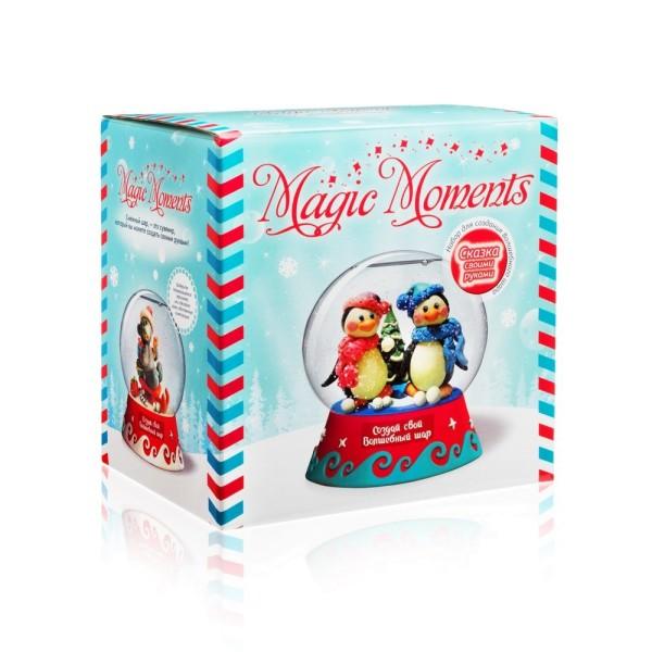Набор для творчества Волшебный шар Пингвины mm-8 MAGIC MOMENTS