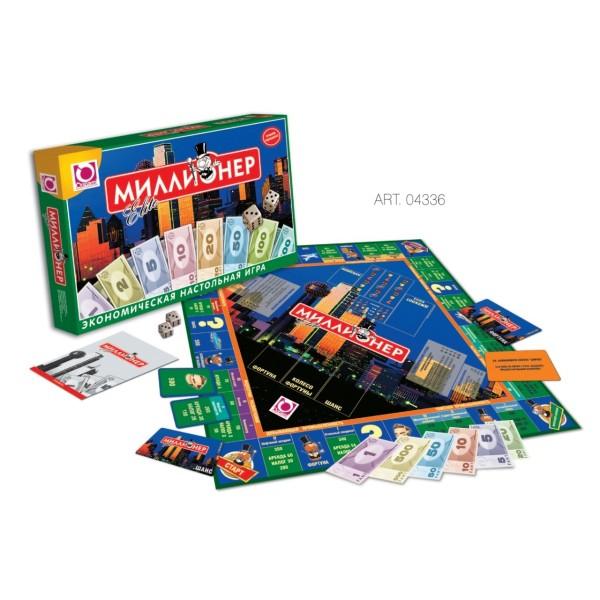Настольная игра Миллионер-элит 4336 ORIGAMI