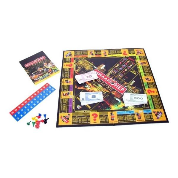 Настольная игра Миллионер-люкс 4337 ORIGAMI