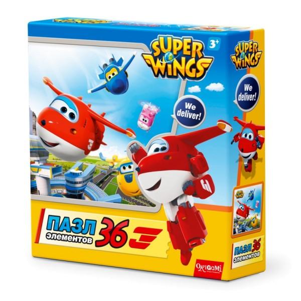 Пазл SuperWings Взлет 36шт 02799 Origami