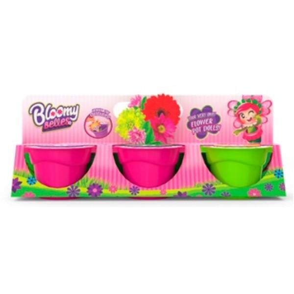 ЦВЕТУЛИ Игровой набор для выращивания цветов с горшками T15834 1Toy