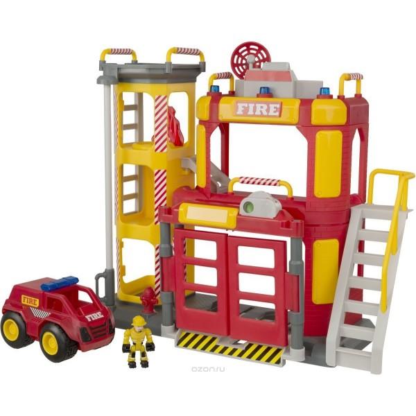 Большая пожарная станция Teamsterz