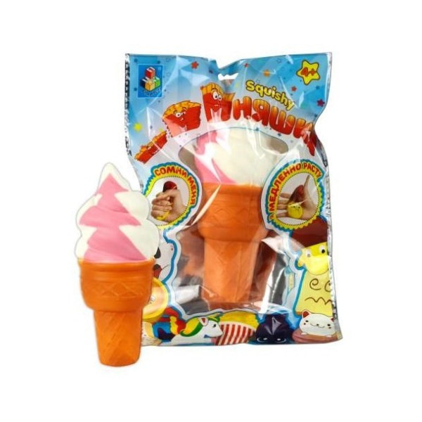 Сквиш антистресс мммняшка, мороженое, Т12317 1Toy