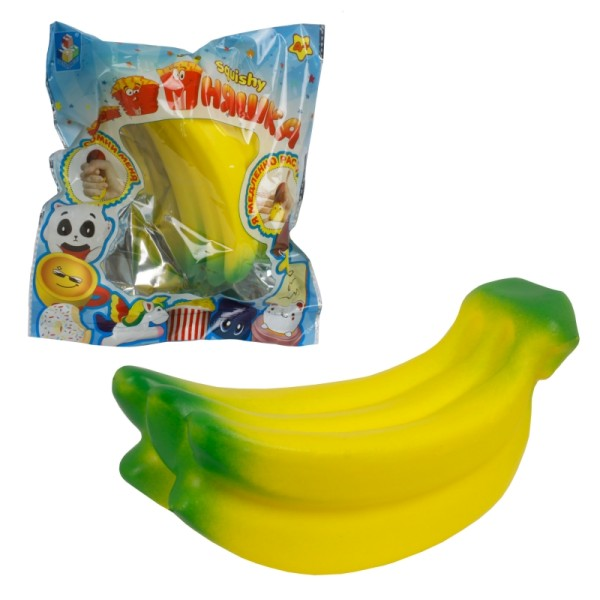 Сквиш антистресс мммняшка, гроздь бананов, Т12419 1Toy