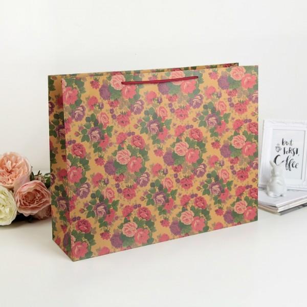 Пакет крафт Многоцветие 2969445