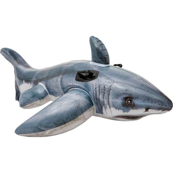 Надувная каталка акула с57525 Intex