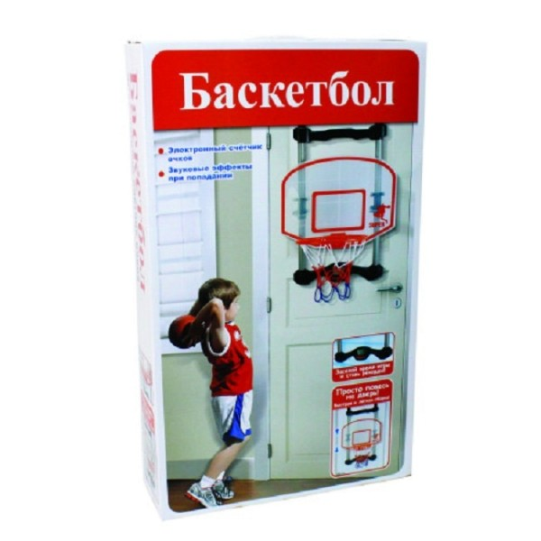 Баскетбольный щит с мячом и насосом Т59860 1TOY