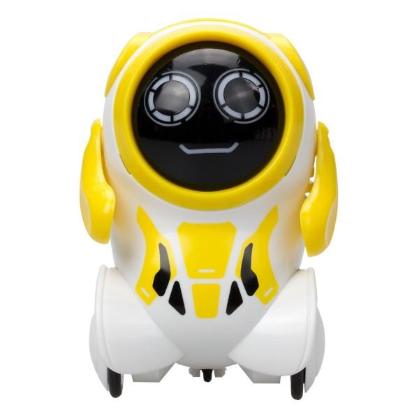 Робот Покибот желтый круглый, 88529-9 Silverlit