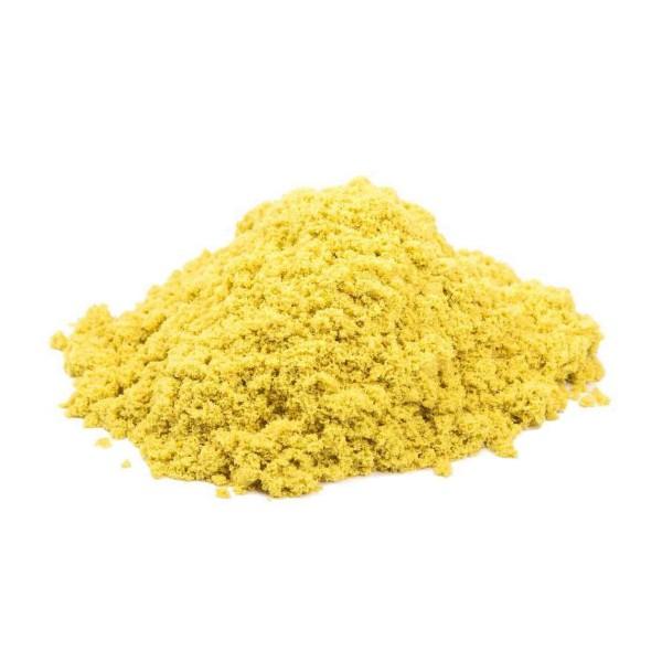 Т58656 1Toy Космический песок Жёлтый 3 кг, набор песочница и формочки