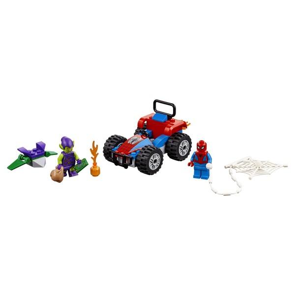 Конструктор LEGO Super Heroes Автомобильная погоня Человека-паука, 76133 Lego
