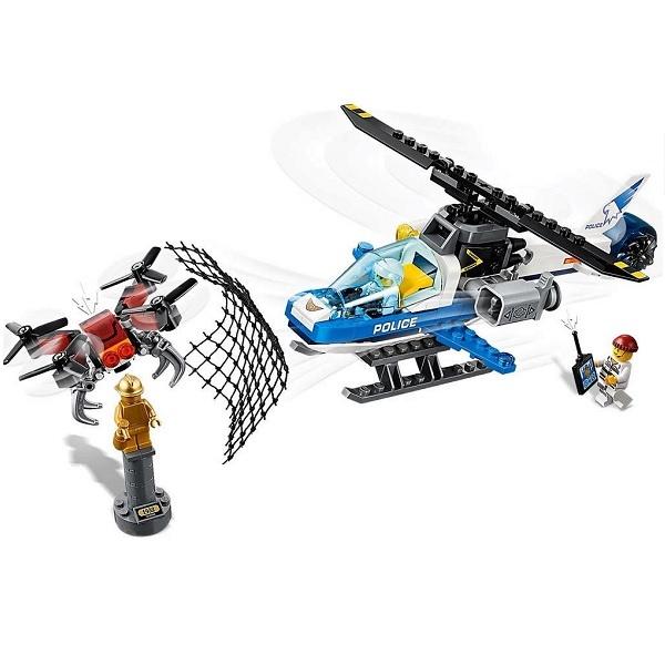 Конструктор Lego City Police Воздушная полиция: Погоня дронов, 60207 Lego