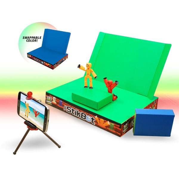Игрушка Stikbot Анимационная студия со сценой, TST617 Zing