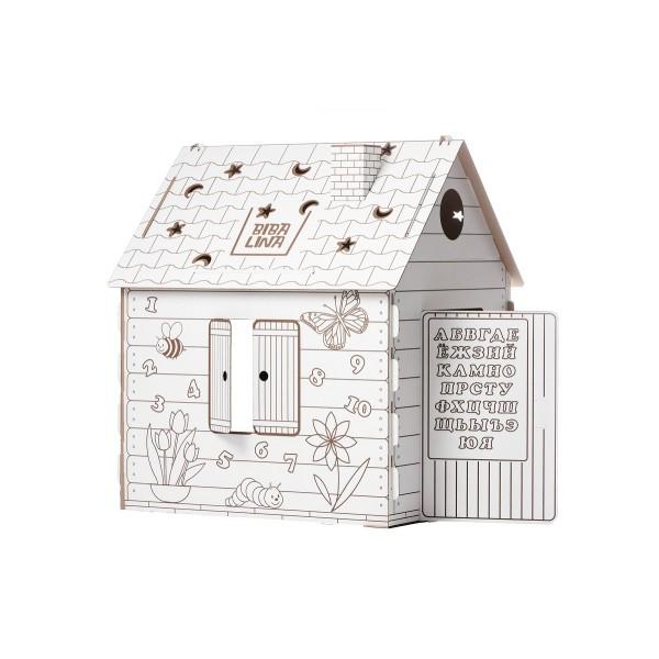 Картонный домик КДР03-002 BIBALINA (уменьшенная упаковка)
