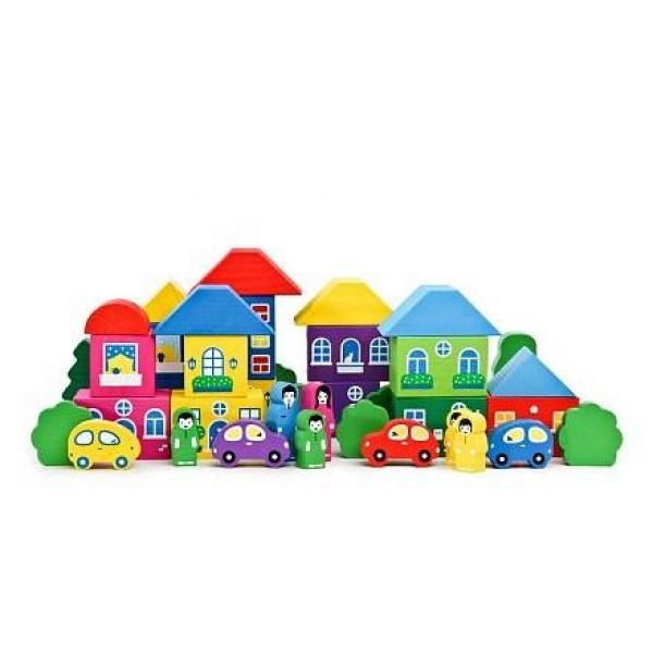 Игровой набор Цветной городок 41 дет 8688-8 ТОМИК