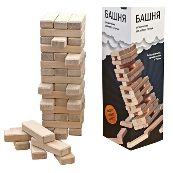 Настольная игра Башня БАШ007 СКВИРЛ