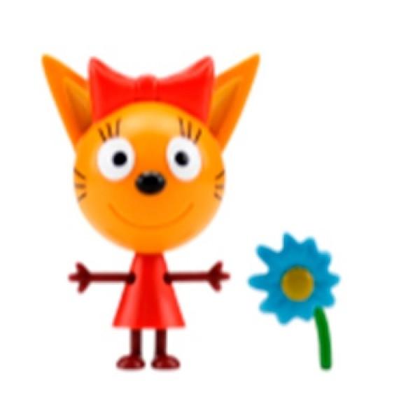 Фигурка пластиковая Три кота Карамелька 7,6 см. Т16175 1Toy