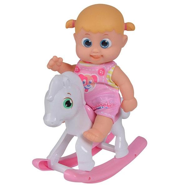 Bouncin' Babies Кукла Бони с лошадкой-качалкой, 16 см 803003