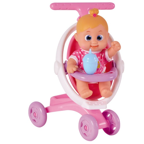 Bouncin' Babies Кукла Бони с коляской, 803004Bouncin babies
