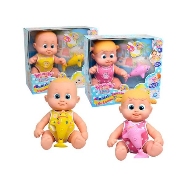 Кукла Bouncin' Babies Bounie с дельфинчиком, 801011 Bounie