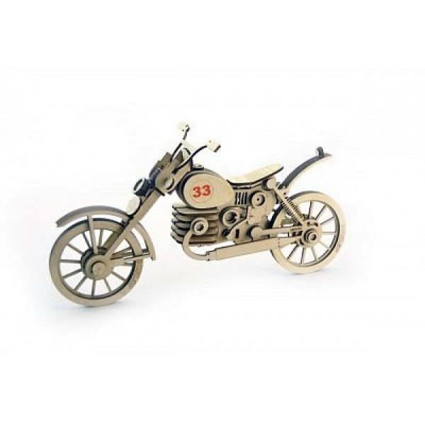 Деревянный конструктор Мотоцикл 33 МЦ-1 Lemmo