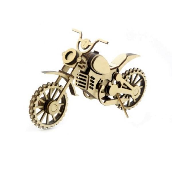 Деревянный конструктор Мотоцикл Кросс МЦ-4  Lemmo
